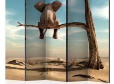 Paraván - Elephant on the Tree II [Room Dividers]
